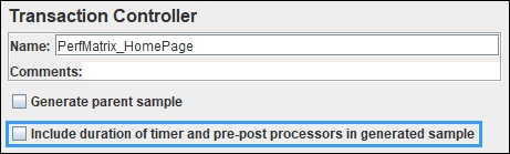 Exclude Think Time in JMeter