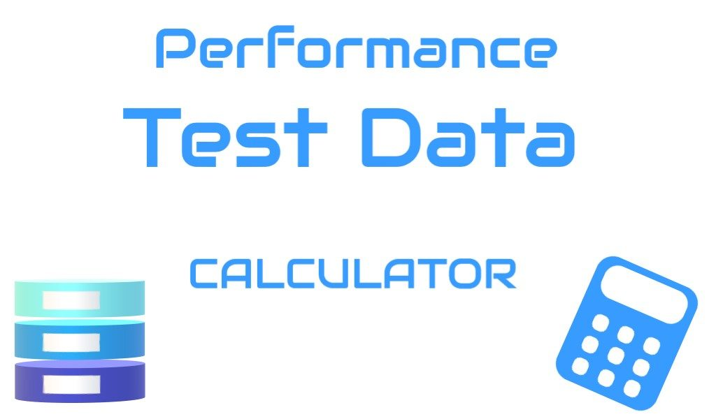 Performance Test Data Calculator