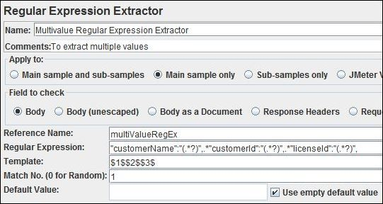 Extract More than one dynamic value from same regular expression