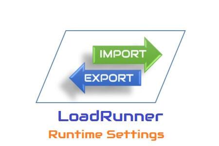 Import Export LoadRunner Runtime Settings