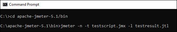 JMeter Non GUI Mode Windows