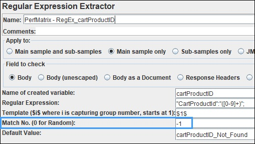 Last Value using Regular Expression Extractor in JMeter