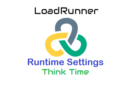 LoadRunner Runtime Settings - Think Time