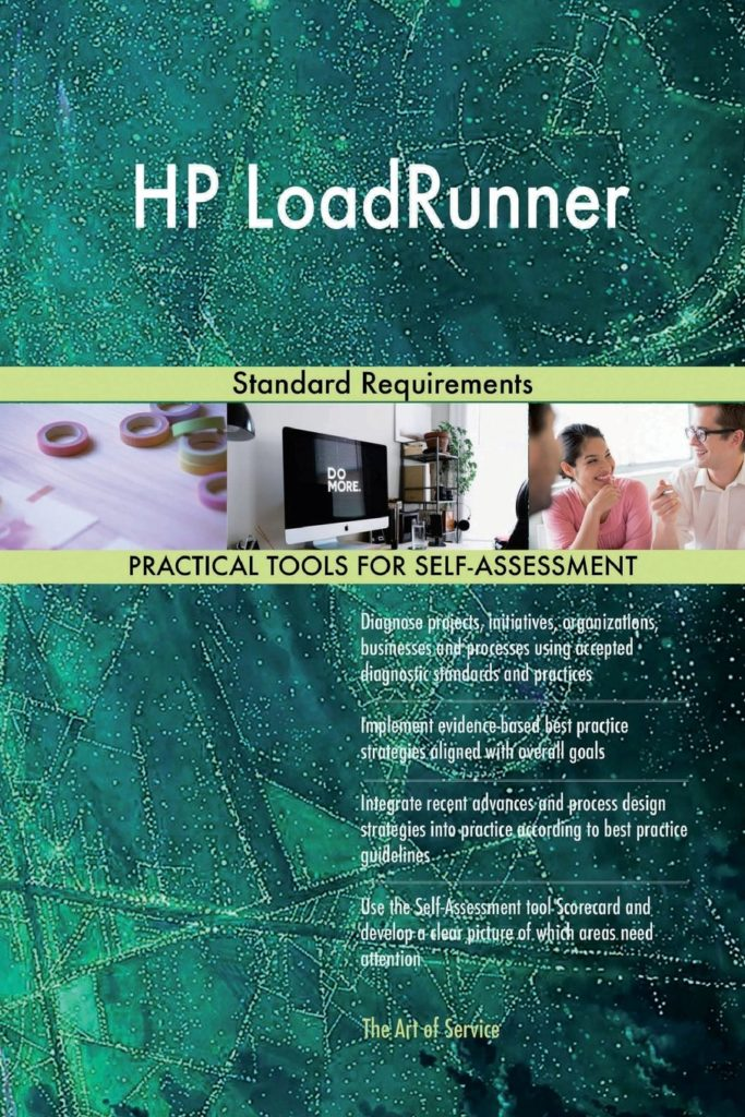 HP Loadrunner - Standard Requirements