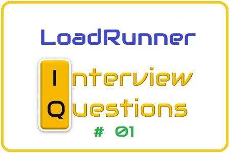 LoadRunner Interview Question 01