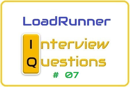 LoadRunner Interview Question 07