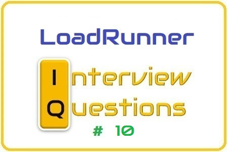 LoadRunner Interview Question 10