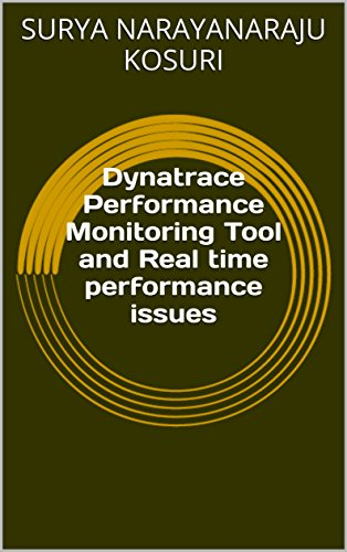 Performance Monitoring Tool and Real time performance issues