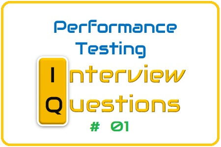 Performance Testing Interview Question 01