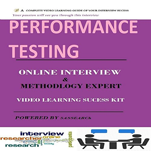 Performance Testing LoadRunner Online Interview and Methodology Expert Video Learning Success Kit