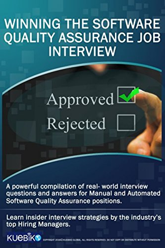 Winning The Software Quality Assurance Job Interview