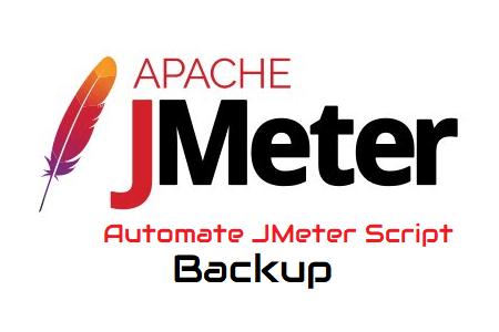 Automate JMeter Script Backup