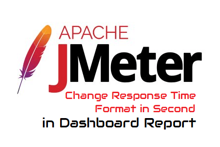 Time Format in Seconds JMeter Dashboard Report