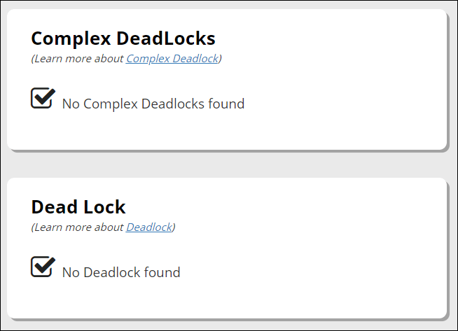 Deadlock Identification