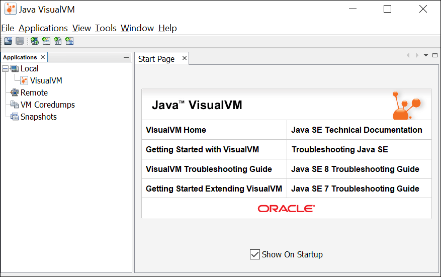 Java Visual VM - Home Page
