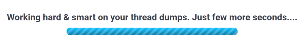 fastThread - Progress Bar