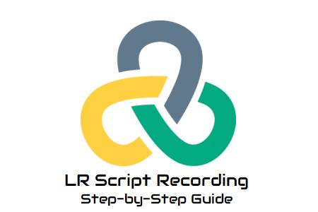 LoadRunner Script Recording
