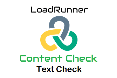 LoadRunner Content Check Text Check