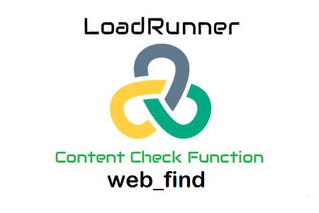 LoadRunner Content Check web_find