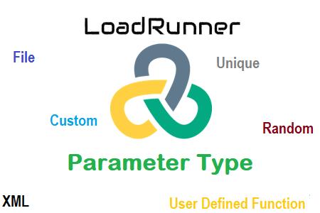 LoadRunner Parameter Type