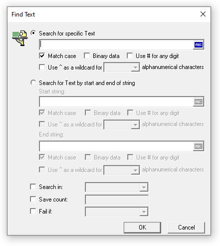 web_reg_find input box