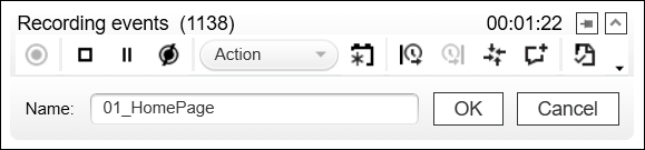 LoadRunner Add Transaction Name