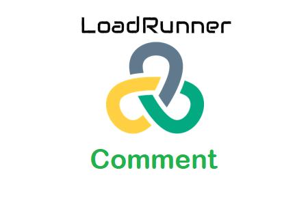 LoadRunner - Comment