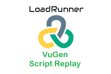 LoadRunner - VuGen Script Replay