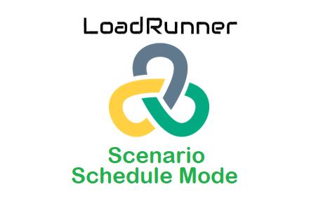 LoadRunner - Scenario Schedule Mode