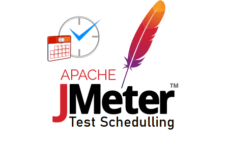 How to schedule a test in JMeter