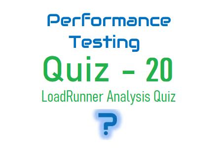 Performance Testing Quiz 20