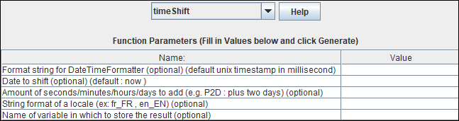 JMeter - Timestamp