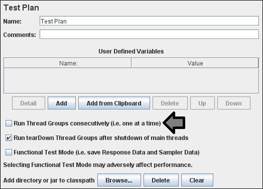JMeter - Multiple Scripts Scenario