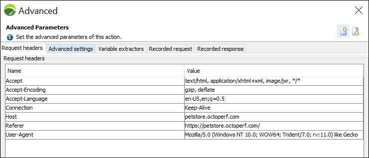 NeoLoad - Correlation (Handling Dynamic Value) - Advanced Parameter