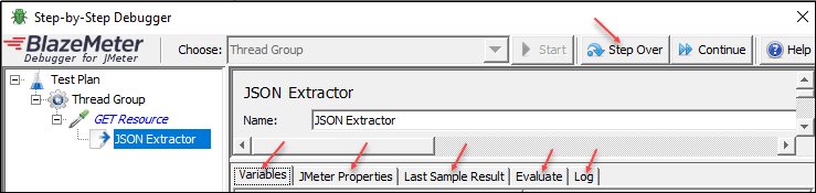 JMeter - Real-Time Debugging (All In One) - JSON Extractor