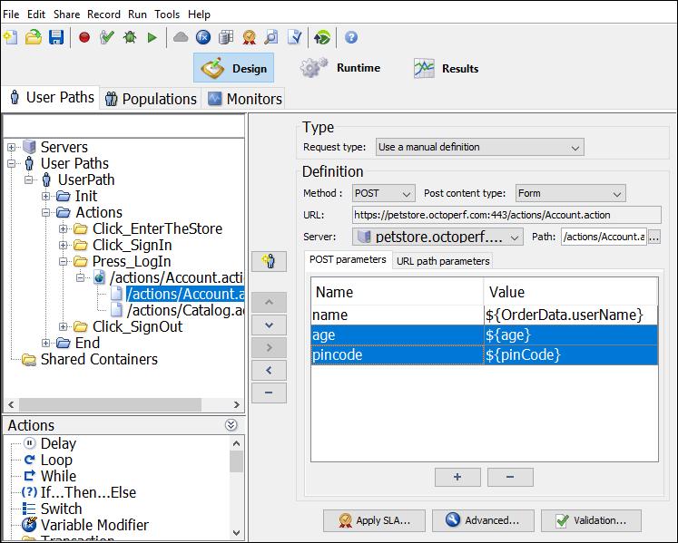 NeoLoad - Random Integer Variable - Script